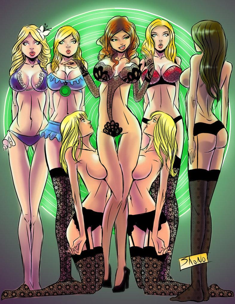 Hypnotized anime girls
